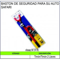 BASTÓN DE SEGURIDAD PARA...