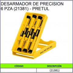 DESARMADOR DE PRECISON 6PZA...