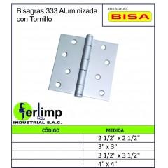 BISAGRA 333 ALUMINIZADA CON...