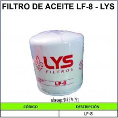 FILTRO DE ACEITE LF-8 - LYS