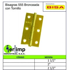 BISAGRA 555 BRONCEADA CON...