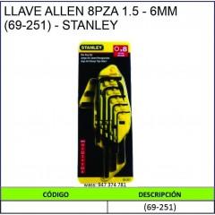 LLAVE ALLEN 8PZA 1.5-6MM...