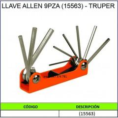 LLAVE ALLEN 9PZA (15563) -...