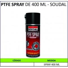 PTFE SPRAY DE 400 ML - SOUDAL
