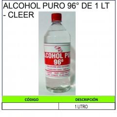 ALCOHOL PURO 96° DE 1 LT -...