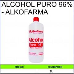 ALCOHOL PURO 96% - ALKOFARMA