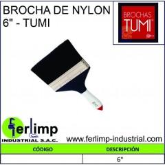 """BROCHA DE NYLON 6"""" - TUMI"""