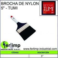 """BROCHA DE NYLON 5""""- TUMI"""