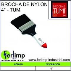 """BROCHA DE NYLON 4""""- TUMI"""