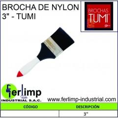 """BROCHA DE NYLON 3"""" - TUMI"""