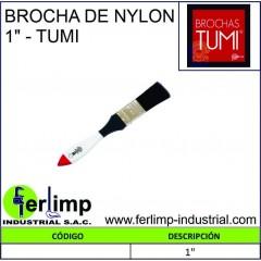 """BROCHA DE NYLON 1""""- TUMI"""