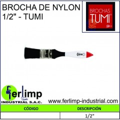 """BROCHA DE NYLON 1/2"""" - TUMI"""