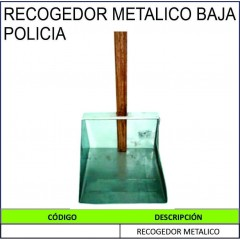 RECOGEDOR METALICO BAJA...