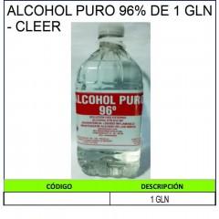 ALCOHOL PURO 96% DE 1 GLN -...