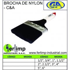BROCHA DE NYLON C&A