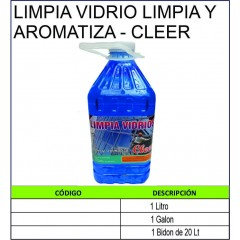 LIMPIA VIDRIOS LIMPIA Y...