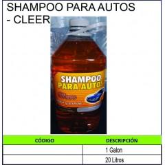 SHAMPOO PARA AUTOS - CLEER
