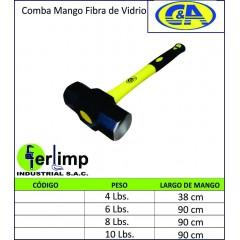 COMBA MANGO FIBRA DE VIDRIO...