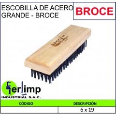 ESCOBILLA DE ACERO 6X19 -...