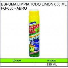 ESPUMA LIMPIA TODO LIMON...