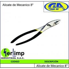 """ALICATE MECANICO 8"""" - C&A"""