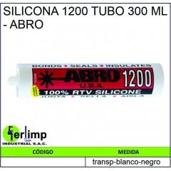 SILICONA 1200 TUBO 300 ML -...