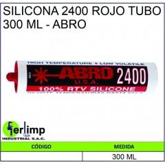 SILICONA 2400 ROJO TUBO 300...