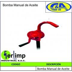 BOMBA MANUAL DE ACEITE - C&A