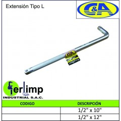 EXTENSION TIPO L - C&A