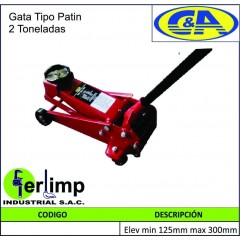 GATA TIPO PATIN 2 TONELADAS...