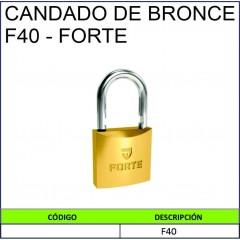 CANDADO DE BRONCE F30 - FORTE