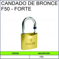 CANDADO DE BRONCE F50 - FORTE