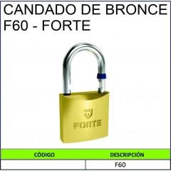 CANDADO DE BRONCE F60 - FORTE
