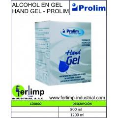 ALCOHOL EN GEL HAND GEL -...