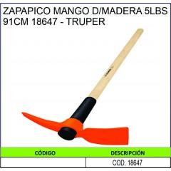 ZAPAPICO MANGO DE MADERA...