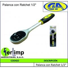 """PALANCA CON RATCHET DE 1/2""""..."""