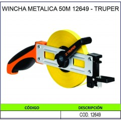 WINCHA METALICA 50M 12649 -...