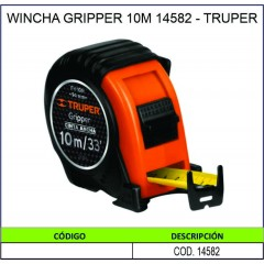 WINCHA GRIPPER 10M 14582 -...