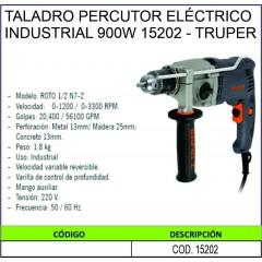 TALADRO PERCUTOR ELÉCTRICO...
