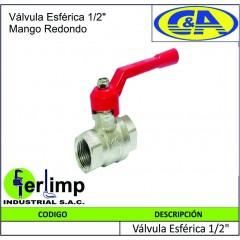 """VALVULA ESFERICA DE 1/2""""..."""