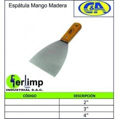 ESPATULA MANGO DE MADERA - C&A