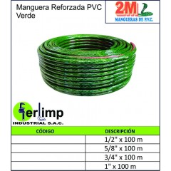 MANGUERA REFORZADA DE PVC...