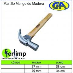 MARTILLO TIPO UÑA  CON...