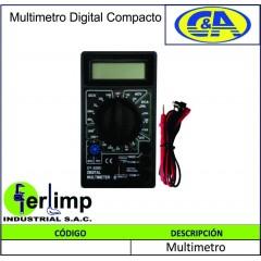 MULTIMETRO DIGITAL COMPACTO...