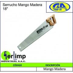 SERRUCHO MANGO DE MADERA DE...