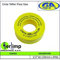 CINTA TEFLON PARA GAS - C&A