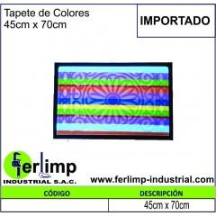 TAPETE DE COLORES 45x70CM -...