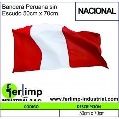 Bandera Peruana sin Escudo...
