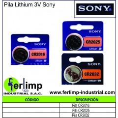 PILA LITHIUM - SONY