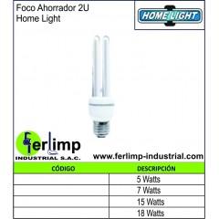 FOCO AHORRADOR 2U - HOME LIGHT